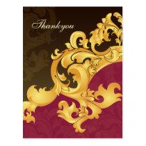 Elegant pink  Thank You Cards