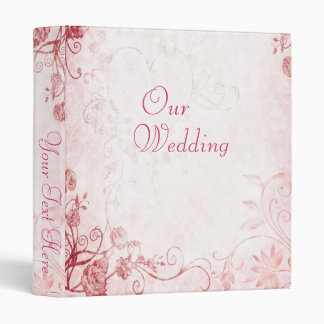 Elegant Pink Vintage Photo Album Binder