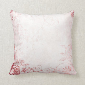 Elegant Pink Vintage Pillows