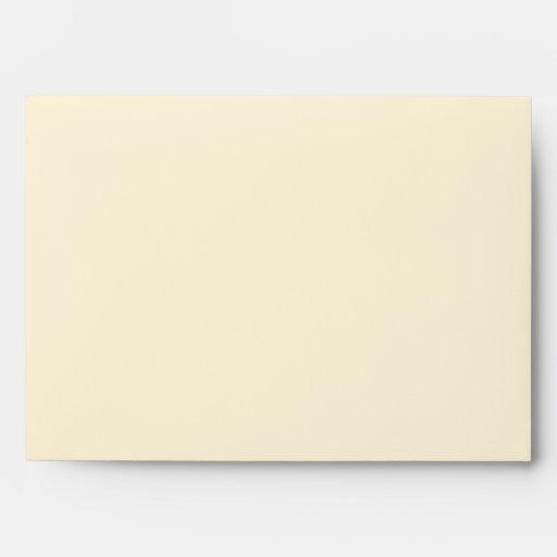 Elegant Plaid Custom Envelope