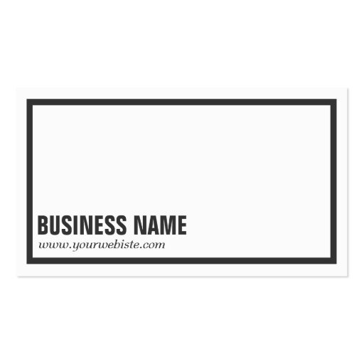 Business card border templates 28 images gold border on white business card border templates by plain black border business card zazzle flashek Image collections