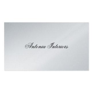 Elegant Platinum Business Card
