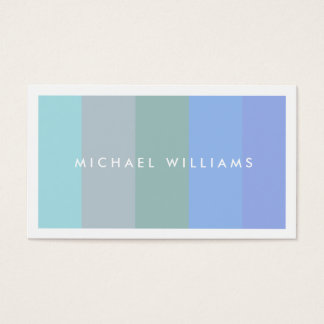 Elegant pleasant smooth young professional fresh business card