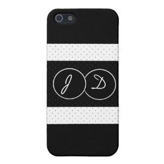 Elegant polka dots iPhone case iPhone 5 Cases