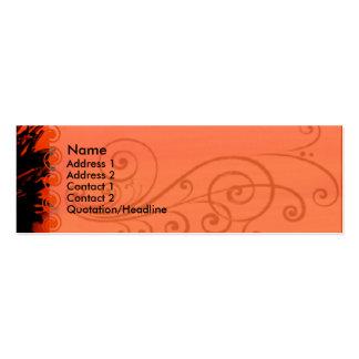 Elegant Poppy Business Card