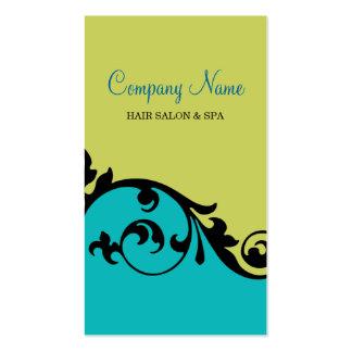 Elegant Posh Business Card (teal)