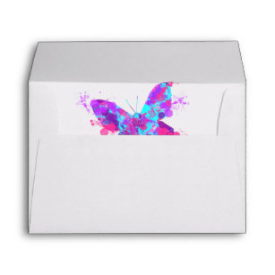 Download Butterfly Envelopes | Zazzle