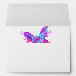 Elegant Pretty Butterfly Artistic Design Envelope