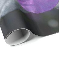 elegant, pretty spring purple azalea flowers. gift wrapping paper