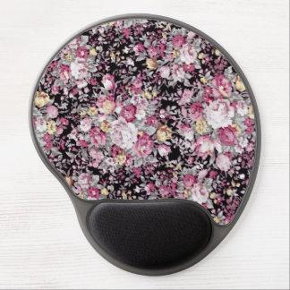 Elegant Pretty Vintage Floral Pattern Gel Mouse Pad
