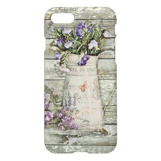 elegant primitive lavender rustic country iPhone 7 case