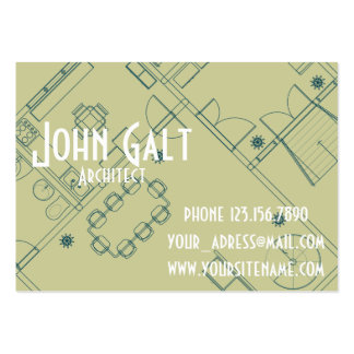 Elegant Professional Architect Business Card Templates