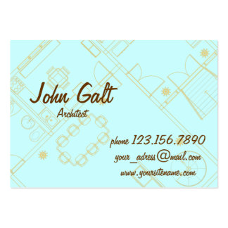 Elegant Professional Architect Business Card Template
