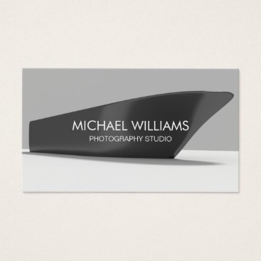 Beach Themed Elegant Professional Boat Boats Photographer Business Card
