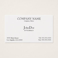Elegant, Professional, Business Card at Zazzle