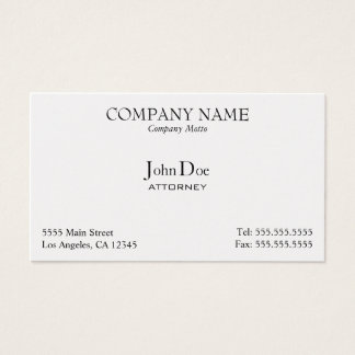 Elegant, Professional, Business Card