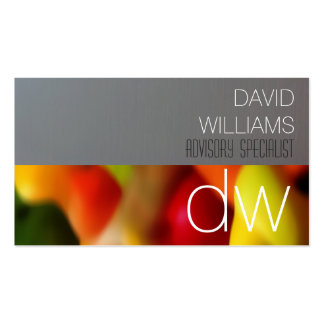 ELEGANT PROFESSIONAL FRESH COLOR FRUIT BUSINESS CARD