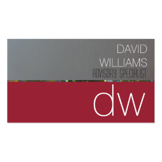ELEGANT PROFESSIONAL GRAY METAL RED RED WINE Double-Sided STANDARD BUSINESS CARDS (Pack OF 100)