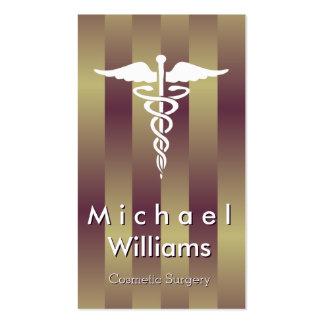 ELEGANT PROFESSIONAL MEDICAL AESTHETIC SURGERY BUSINESS CARD