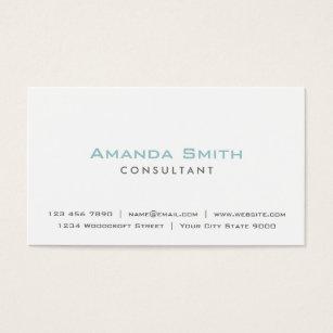 Makeup artist business cards zazzle elegant professional plain white makeup artist business card colourmoves