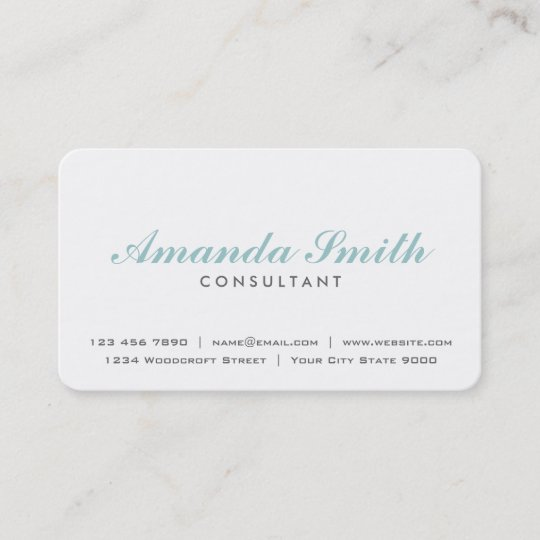 Elegant professional plain white makeup artist business card elegant professional plain white makeup artist business card colourmoves