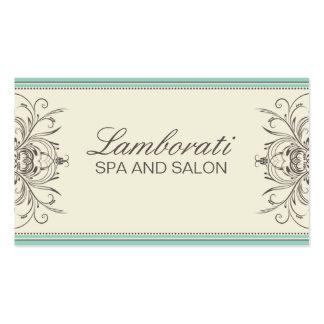 Elegant Professional Vintage Damask Art Deco Business Card Templates