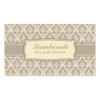 Elegant Professional Vintage Interior Designer Business Card Template