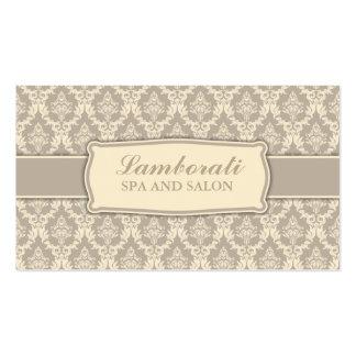 Elegant Professional Vintage Interior Designer Double-Sided Standard Business Cards (Pack Of 100)
