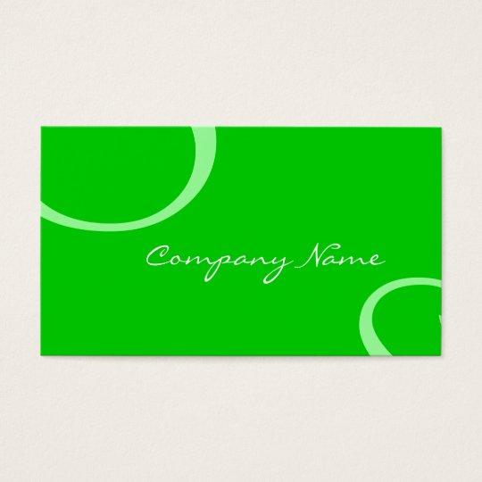 Elegant Profile Card (green)