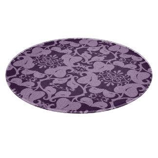 Elegant Purple And Lavender  Cutting Board