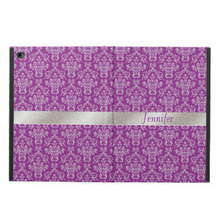 Elegant Purple and Silver iPad Air 2 Case