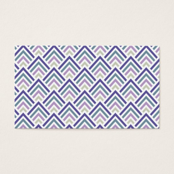 Hot pink black art deco chevron pattern business card antique images elegant purple and teal geometric zigzag chevron business card colourmoves