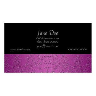 Elegant Purple Business Card