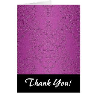 Elegant Purple Card