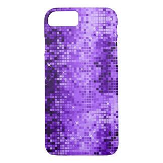 Elegant Purple DiscoBall Glitter & Sparkles iPhone 8/7 Case