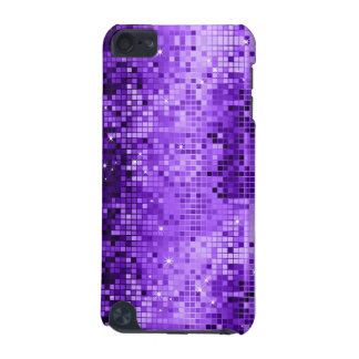 Elegant Purple DiscoBall Glitter & Sparkles iPod Touch (5th Generation) Case