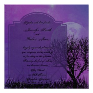 Medieval and Gothic Theme Wedding Invitations - Unique and Special ...