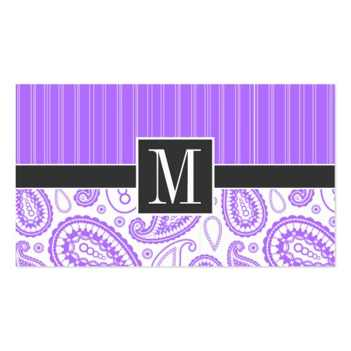 1000 purple paisley business cards and purple paisley for Purple business cards