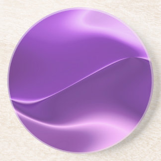 elegant purple sandstone coaster