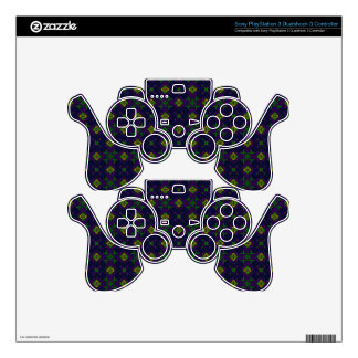 Elegant Purple Skins for PS3 Controllers
