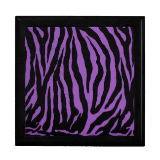 Elegant Purple Tiger Premium Gift Jewelry Box