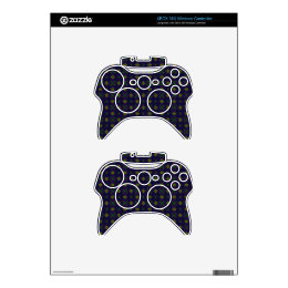 Elegant Purple XBox360 Controller Decal Xbox 360 Controller Decal