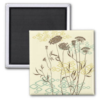 Elegant Queen Anne's Lace Gift Magnet