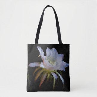 Elegant Queen-of-the Night Tote Bag