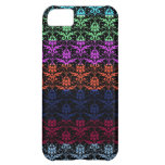 Elegant Rainbow Colorful Damask Fading Colors iPhone 5C Cases