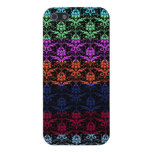 Elegant Rainbow Colorful Damask Fading Colors iPhone 5 Covers
