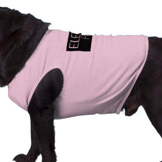 Elegant Rat Doggie Ribbed Tank Top