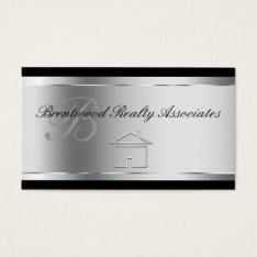 Elegant Real Estate Business Cards at Zazzle