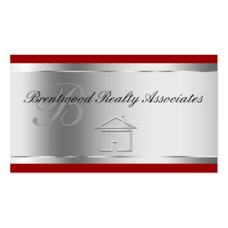 Elegant Real Estate Business Cards