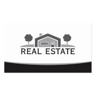 Elegant Real Estate Horizontal Business Card